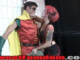 FemDom Strap On Pegging..