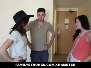 FamilyStrokes - Hotel Room..