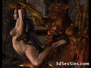 3D Creatures From Hell Fuck..