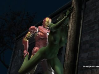 Ironman and she hulk
