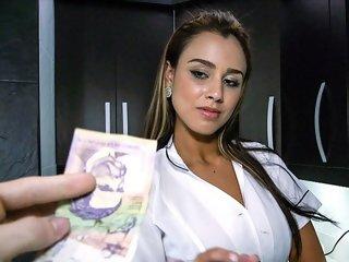 Big Booty Latina Maid