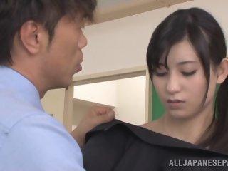 Shameless Japanese teacher..
