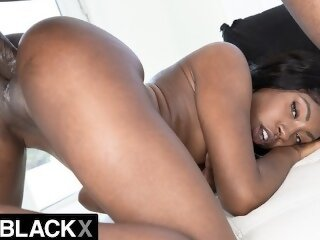 AllBlackX - Hottie flexible..