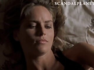 Sharon Stone Naked & Sex Scenes Compilation On ScandalPlanetCom