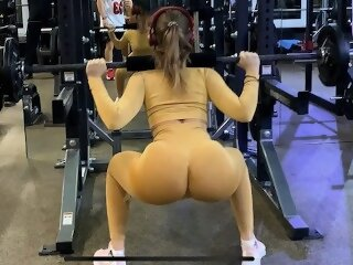 butt perfect body point of view big ass hot girl working out doggystyle