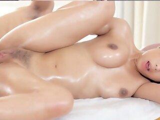 PORNPROS Rub Down Asian Sex..