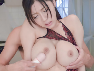 Exotic Japanese model Miho..