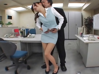 Japanese office sex...
