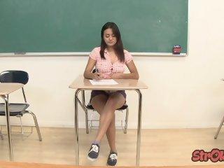 Bad Student Selma Sins..