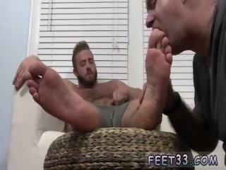 Hairy hunk legs gay Aaron..
