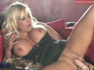 Michelle Thorne smoking and..