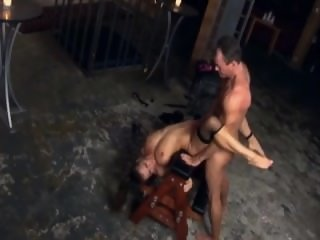 Rita having anal sex in..