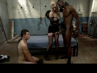 White slut makes chastity..