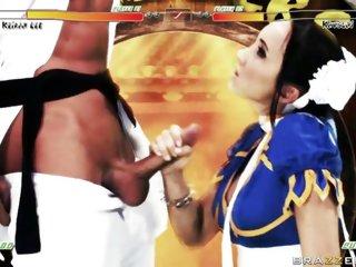 Katsumi hot babe in costume..