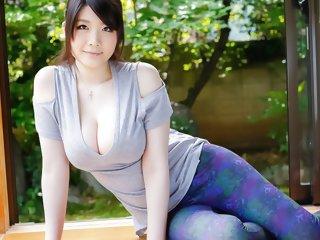 Amazing Japanese whore Rie..
