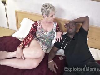 Breasty Granny in Creampie..