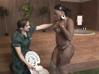 Ebony Star Melvina Raquel in..