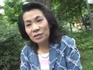 Japanese Chubby Granny Rie..