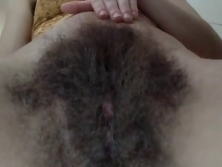Hairy college girl